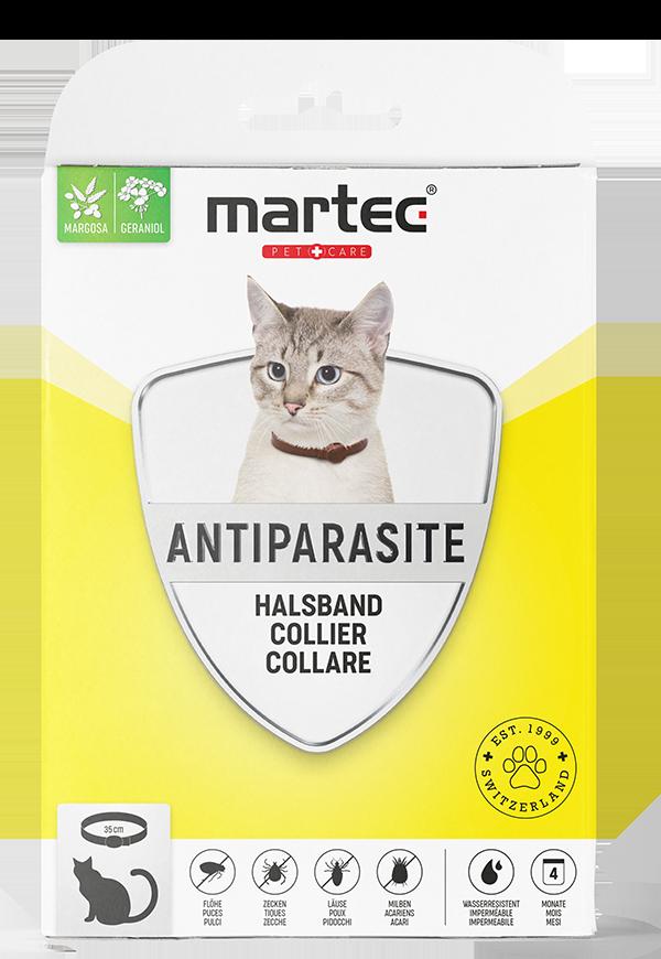 martec PET CARE Katzenhalsband Antiparasite